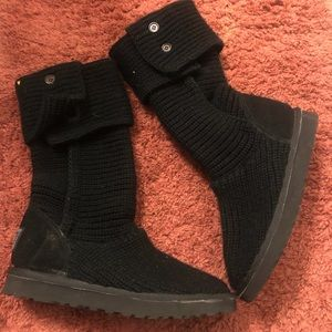 Authentic CLASSIC CARDY SOCK BOOTS (black)